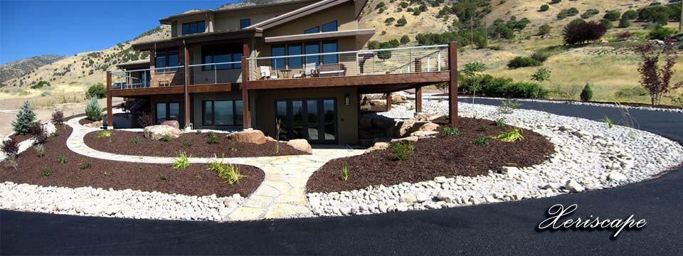 Landscape expressions a design build firm in logan utah for Landscape design utah